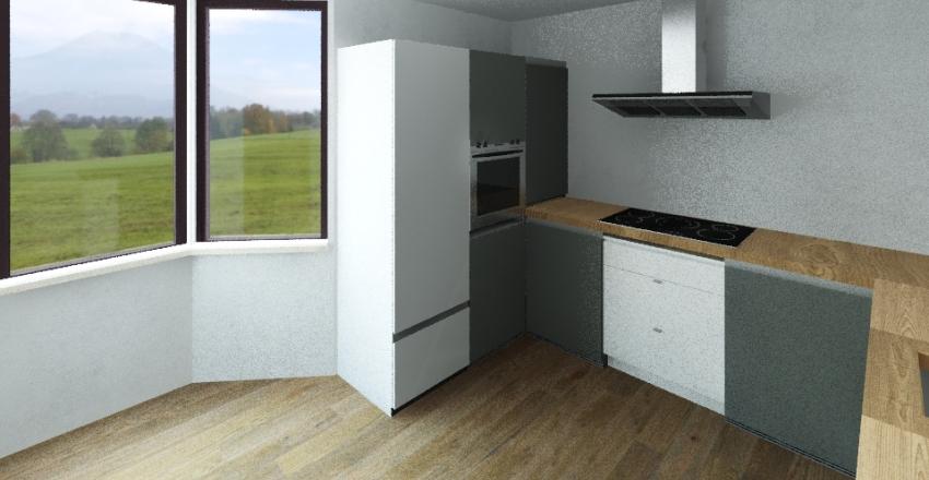 Kuchnia Wzgórze Bernadowo Reverse Interior Design Render