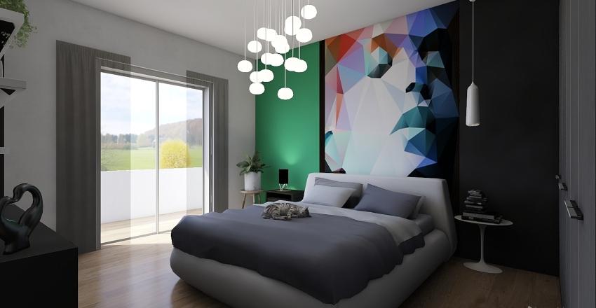 CAMERE DA LETTO MATRIMONIALE Interior Design Render