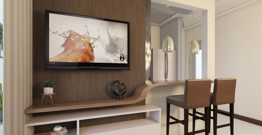 Nosso apê 105 Interior Design Render