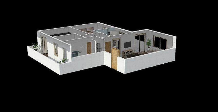 1° Piano Interior Design Render