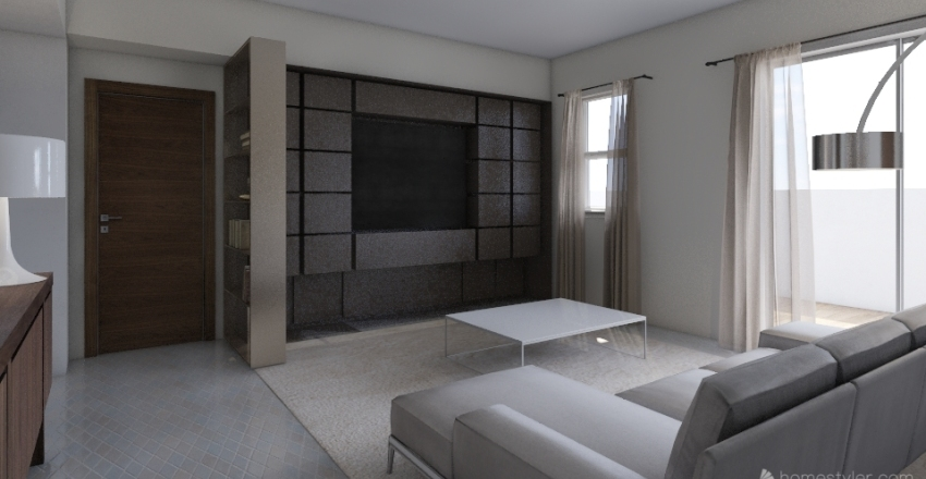 CONDOMINIO ULISSE LIVING Interior Design Render