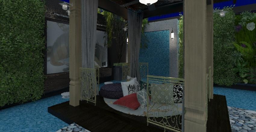 Pool Garden Interior Design Render