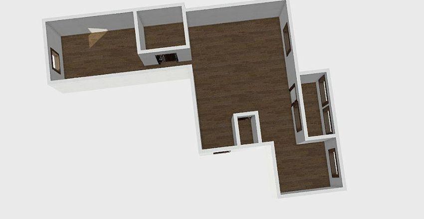 3-комн_0186 Interior Design Render