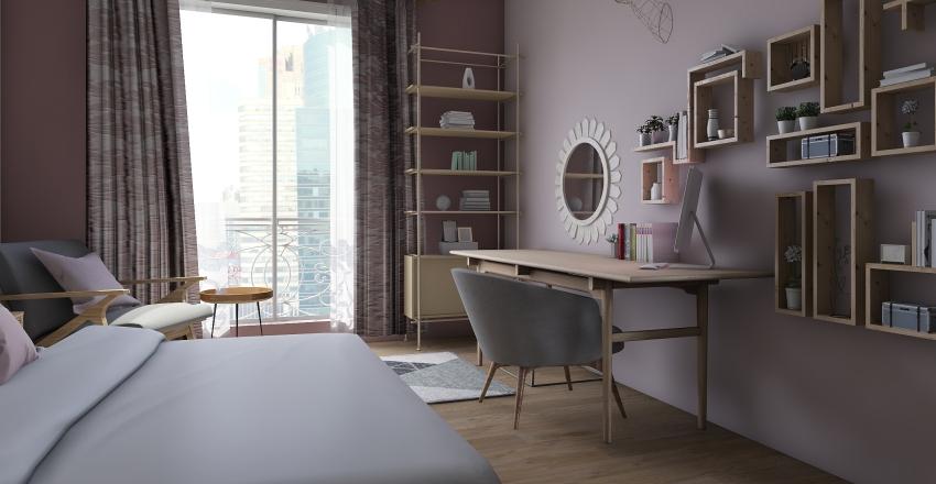 littel house Interior Design Render
