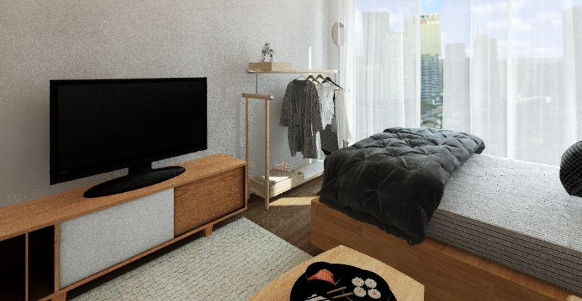 Minimalism Interior Design Render