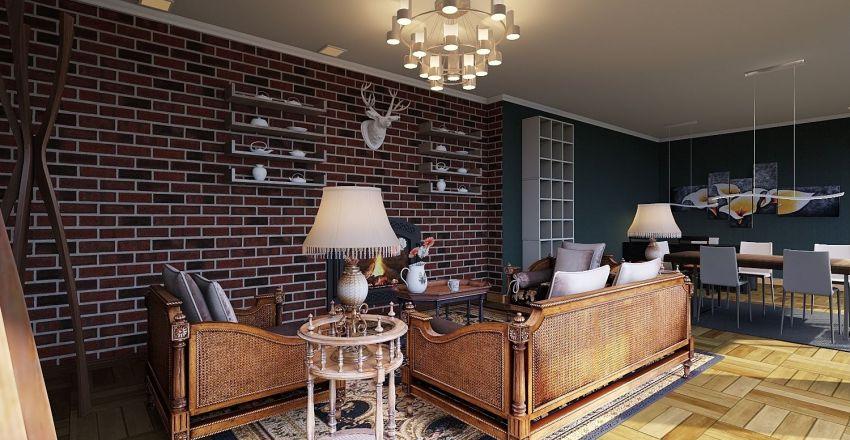 Projec Office Interior Design Render