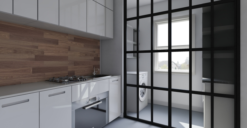 SunPreet-first-dry-area Interior Design Render