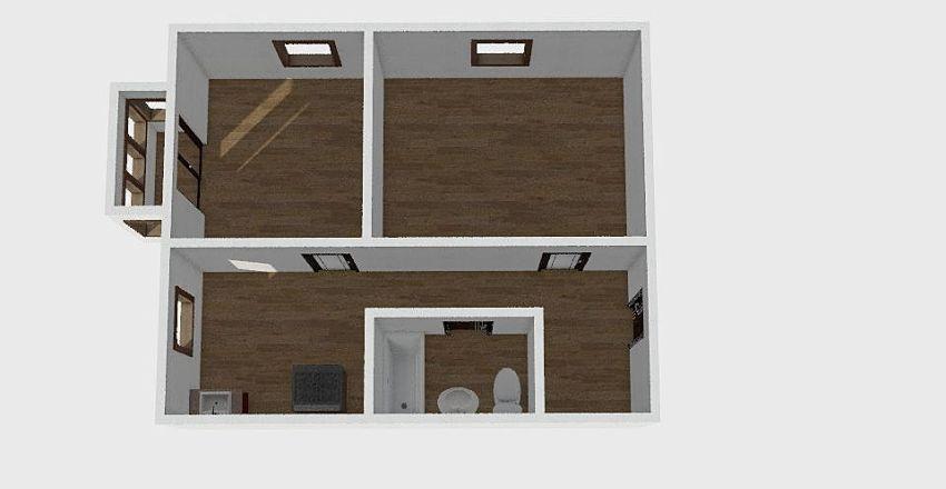 2-комн_0152 Interior Design Render