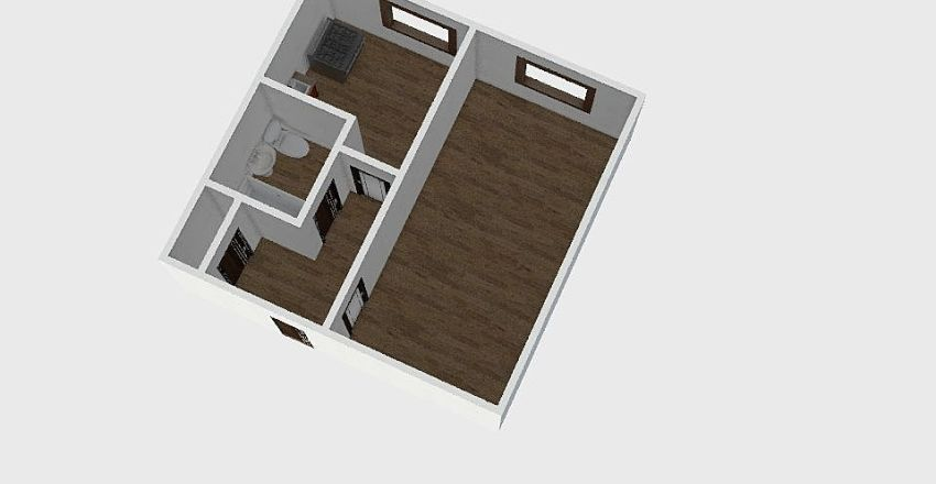 1-комн_011 Interior Design Render