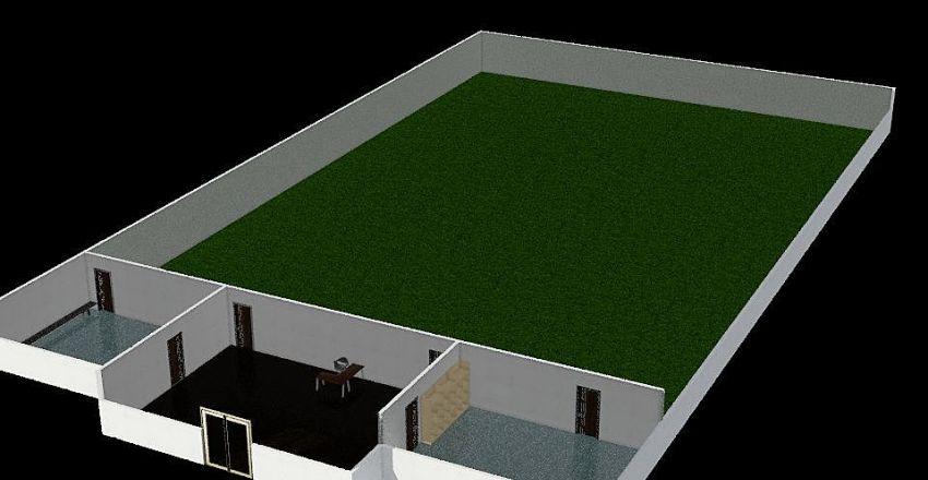 Football pitch Interior Design Render
