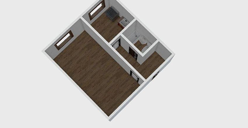 1-комн_012_10 Interior Design Render