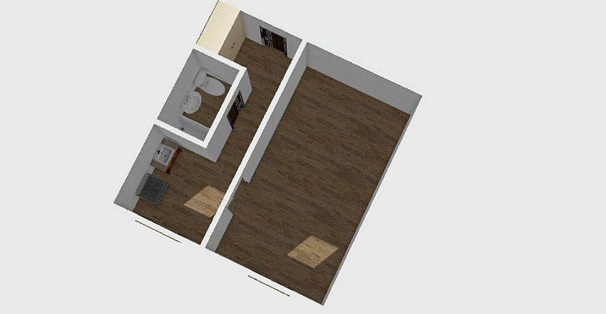 1-комн_0109 Interior Design Render