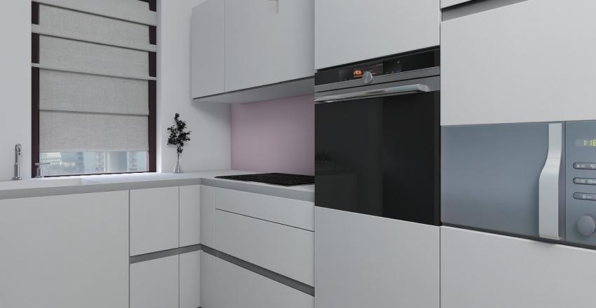 Flat for my sister Interior Design Render