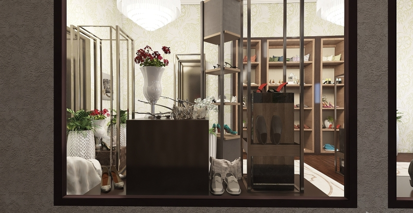 Shopping for a day Interior Design Render