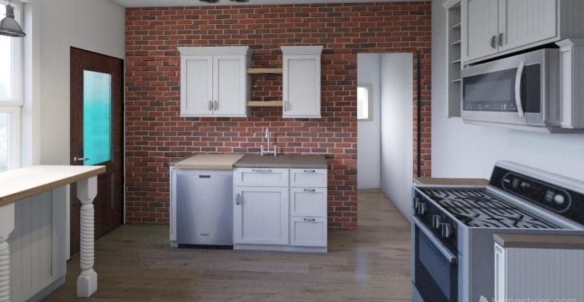 127 W 13th St Flr1 v2 Interior Design Render