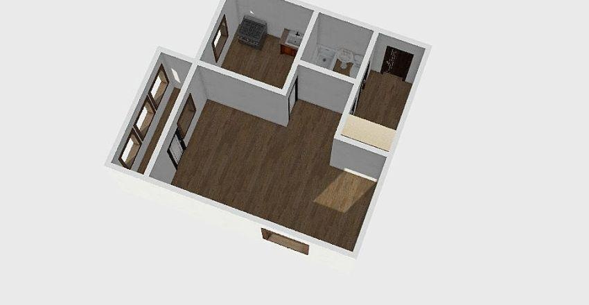 1-комн_018_6 Interior Design Render