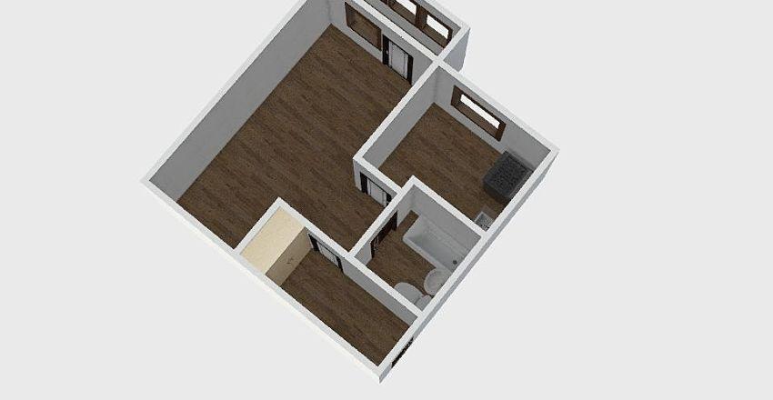 1-комн_018_5 Interior Design Render