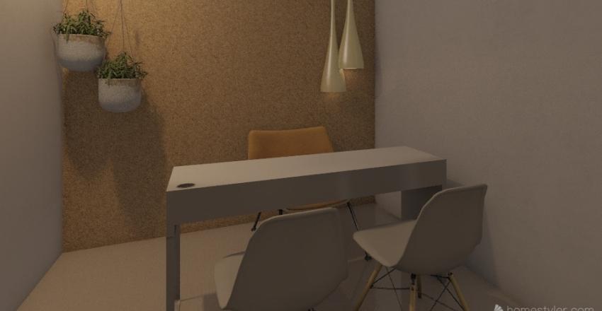 Projeto Instituto Interior Design Render