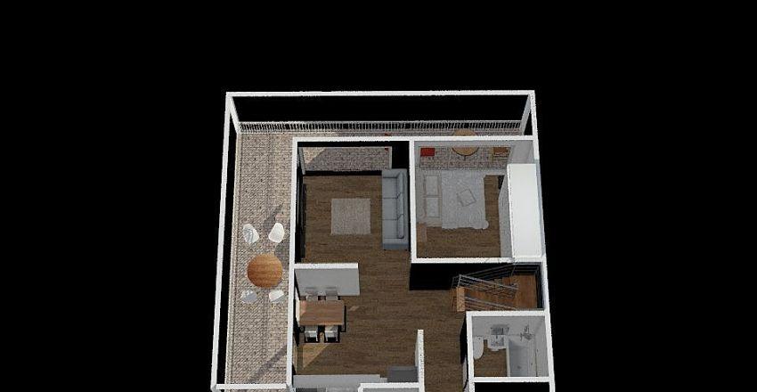 민택's가족 하우 Interior Design Render