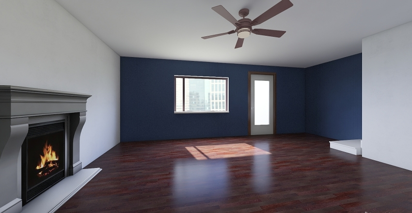 Baby Ruth Home (2 Floors) Interior Design Render