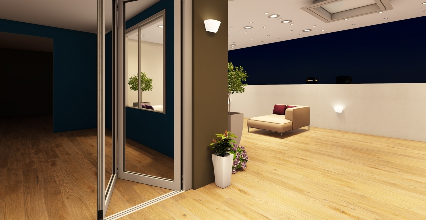 Apartamento com vista. Interior Design Render