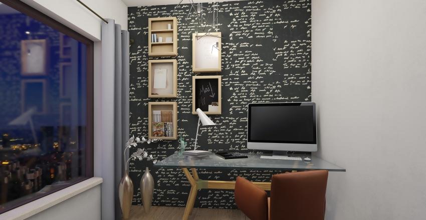 suite( computador) Interior Design Render