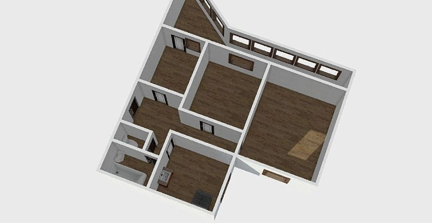 3-комн_0120 Interior Design Render