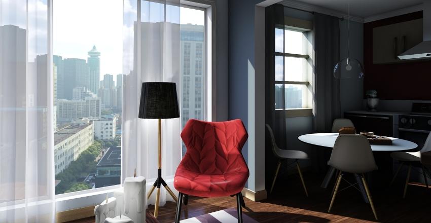 Квартира-студи Interior Design Render