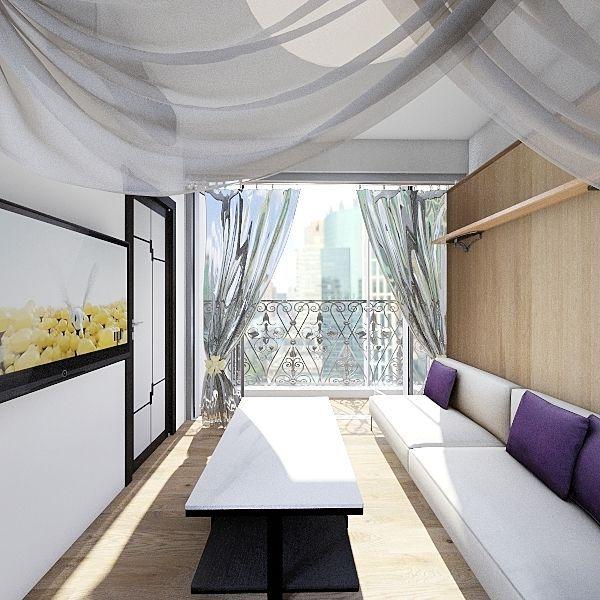 Eight South Lane 7E Interior Design Render