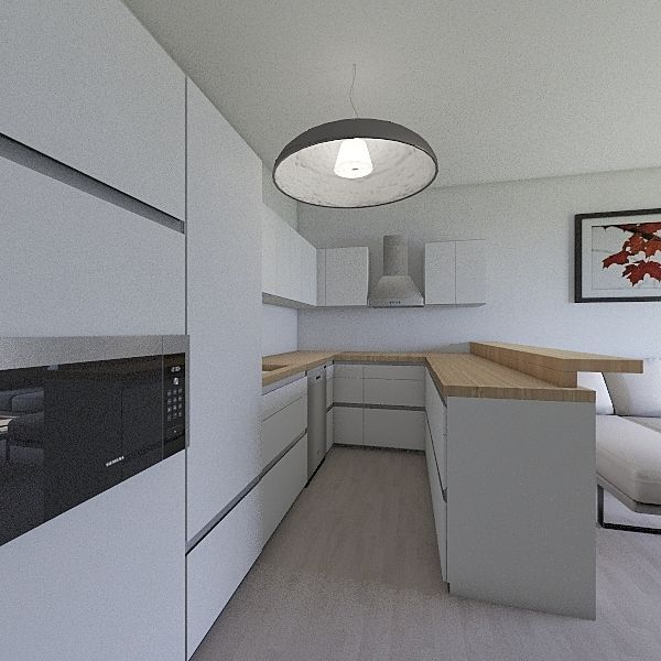 Projekt_Natalia_kuchnia_N_1 Interior Design Render