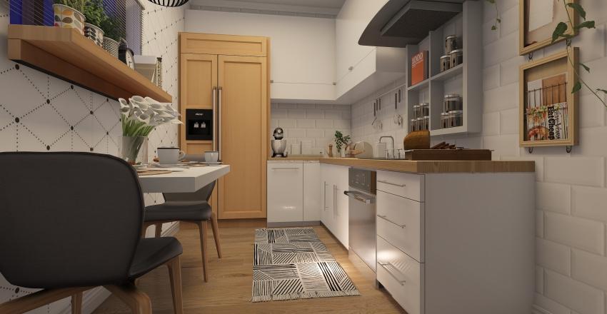 nordic Interior Design Render