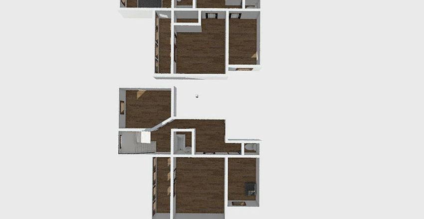 4-комн_038 Interior Design Render