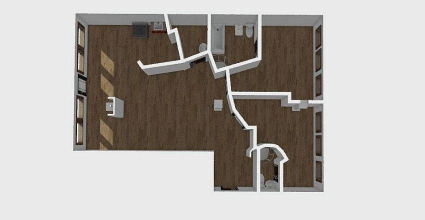 3-комн_072 Interior Design Render