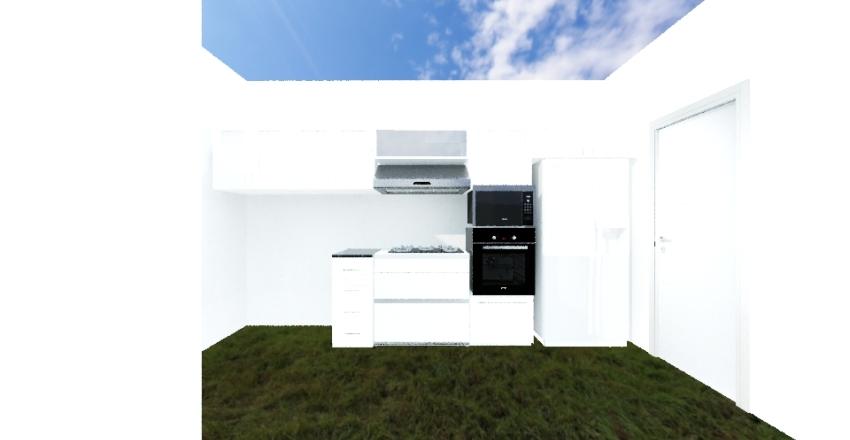 cocina 102 Interior Design Render