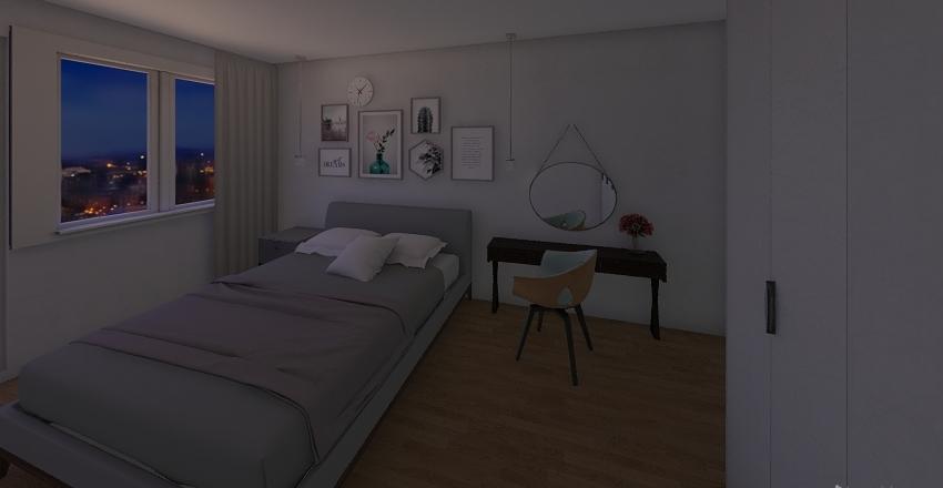 Rubinkowo 1 plan  Interior Design Render