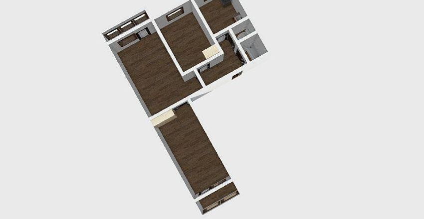 3-комн_0172_1 Interior Design Render