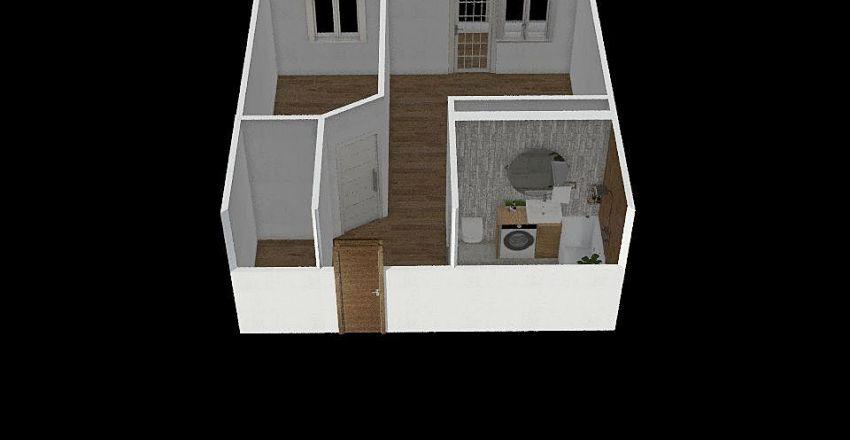 план 1 Interior Design Render