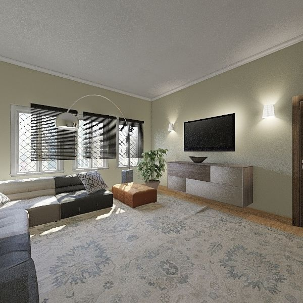 1111Cool house Interior Design Render