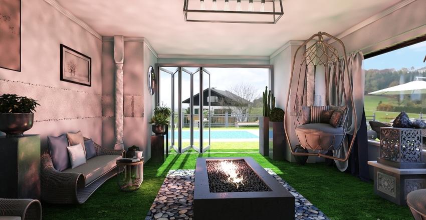 Summer Loving!! Interior Design Render