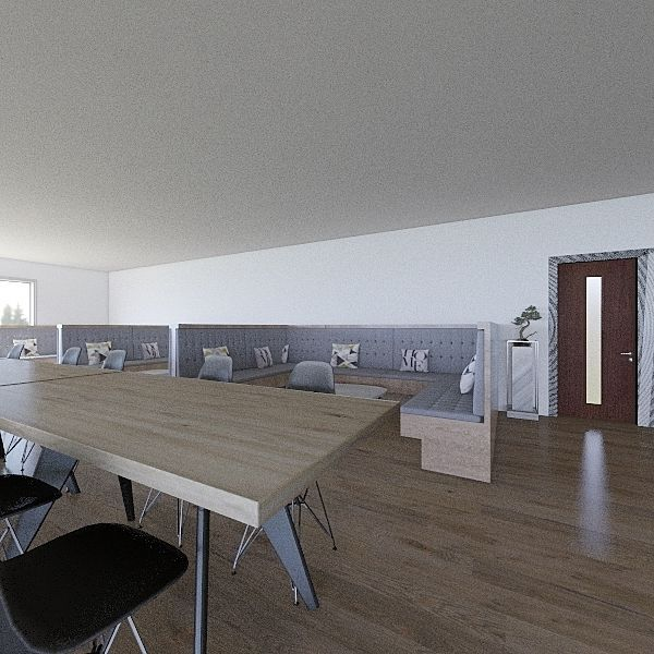 Canteen Final Interior Design Render