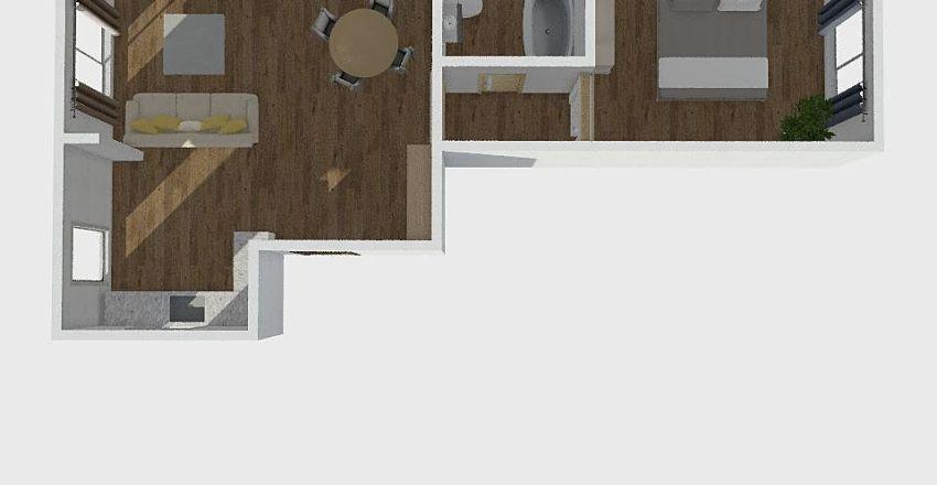 SIAURES MIESTELIS Interior Design Render
