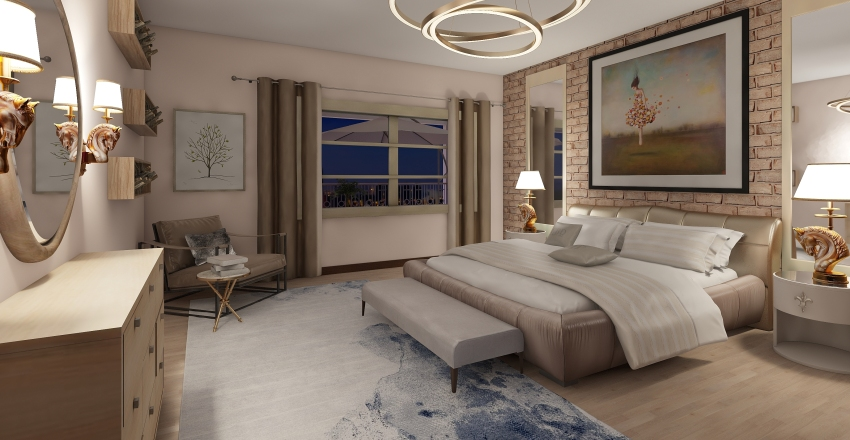 TEXAS SİTİDE Interior Design Render