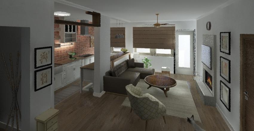 Srdjan Novi stan 5 Interior Design Render