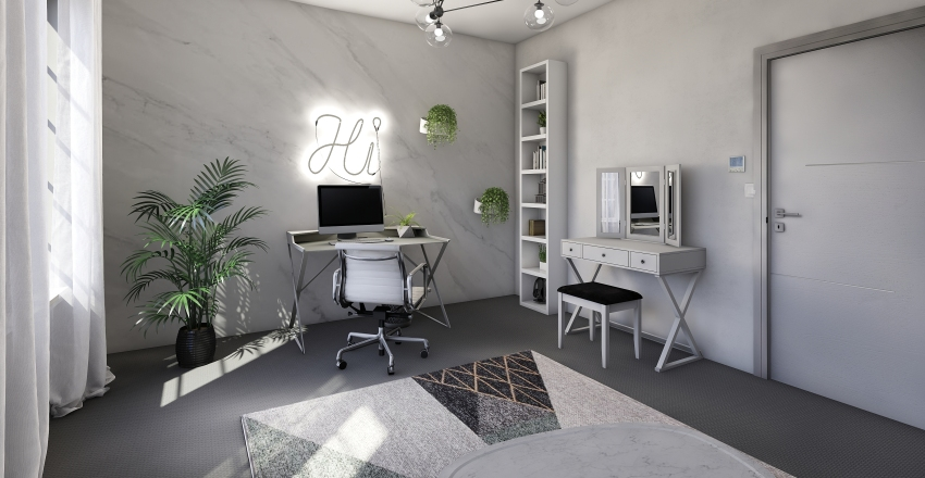 Youtuber room design Interior Design Render
