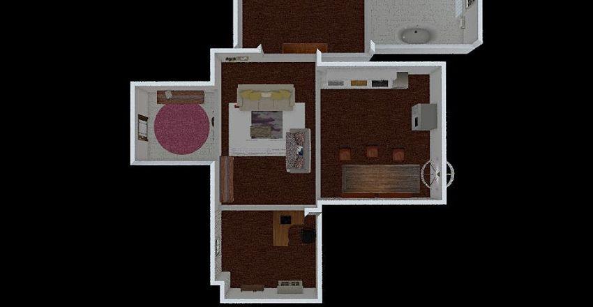 Brittany's Home Interior Design Render