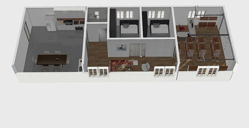 Home doml Interior Design Render