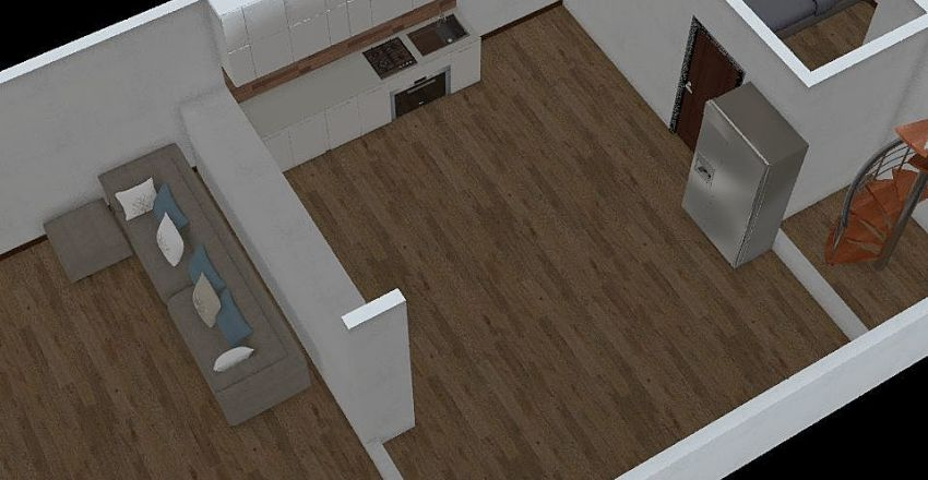 Floor-1 Interior Design Render