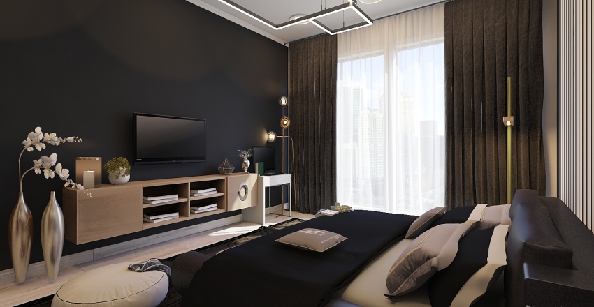 master bedroom  Interior Design Render