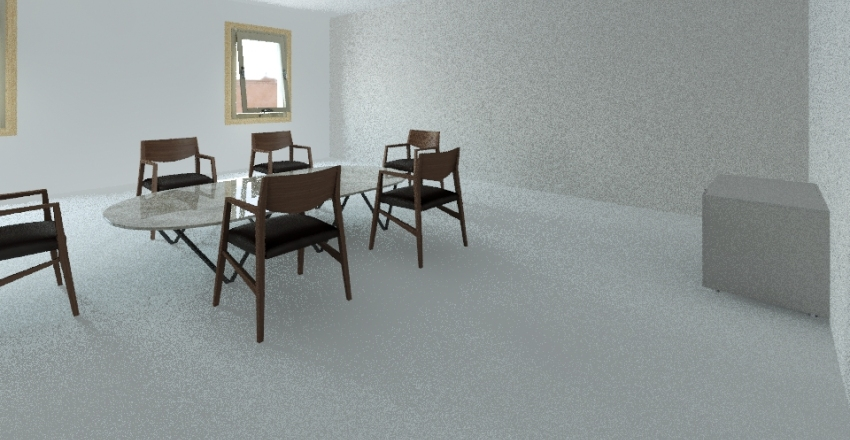 Meeting room Interior Design Render