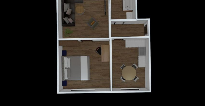 Gneisenaustr Lübeck Interior Design Render